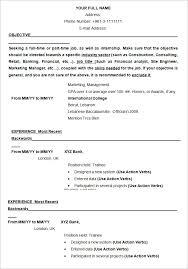 resume template exles resume sles resume template exle jobsxs