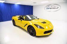 yellow corvette corvette in exterior color yellow ebay