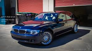 bmw orient blue metallic 2005 bmw 750i e65 orient blue metallic affinesse