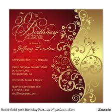 A Birthday Invitation Card 50th Birthday Party Invitations Dhavalthakur Com