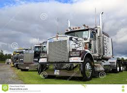 truck hub kenworth trucks classic kenworth show trucks under dramatic sky editorial stock