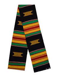 kente graduation stoles kente sash black everything else