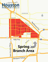 Harris County Zip Code Map by Spring Branch Houston Maps Spring Branch Neighborhood Maps