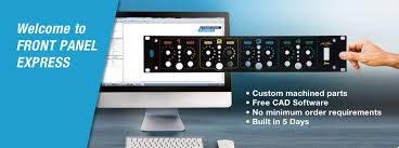 front panel express front panel design software and cad
