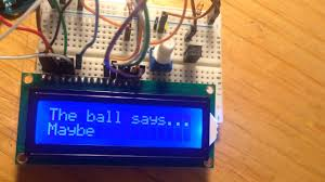 arduino projects book project 11 crystal ball youtube