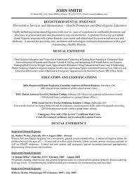 Pre Dental Resume Registered Dental Hygienist Resume Template Premium Resume
