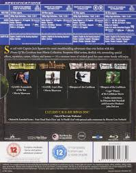 amazon com pirates of the caribbean four movie collection blu