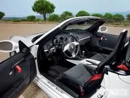 Porsche Boxster Interior - 2011 porsche boxster spyder 3 4 liter flat six engine european