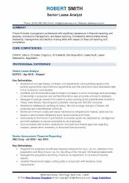 Guide In Making Resume Lease Analyst Resume Samples Qwikresume