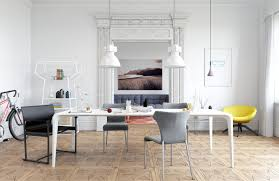 Modern White Dining Room Table Scandinavian Dining Room Design Ideas U0026 Inspiration