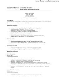 customer service resume skills and qualifications amazing examples