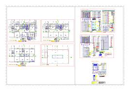 compact building plan 3 floors in autocad drawing bibliocad compact building plan 3 floors dwgautocad drawing