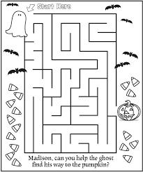 40 best halloween worksheets images on pinterest halloween