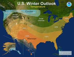 Show Me The Weather Map Noaa Winter Outlook Mild In The South Cold In The Northwest