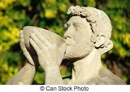 dionysus greek god statue statue of bacchus dionysus statue of god of wine bacchus stock