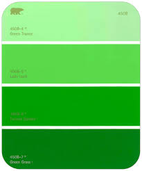 green paint swatches gradient main