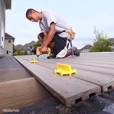 decks maintenance the family handyman