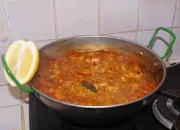 la cuisine pied noir recette typiquement pied noir du caldero à base de poisson
