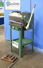 used di arco hand press brake sterling machinery sterling