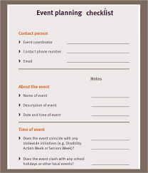 free event planning checklist ministry pinterest event