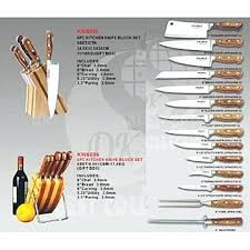 kitchen knives types fashionable inspiration kitchen knife set with their names