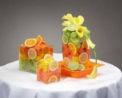 fruit centerpieces i really do want sliced fruit centerpieces with lemons limes