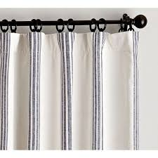 pottery barn riviera stripe d with blackout liner 129 liked on polyvore featuring window panelswindow coveringswindow curtainswindow