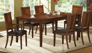 transitional dining room tables cherry finish transitional dining room