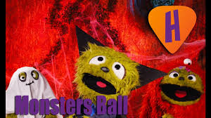 halloween monster ball the higgleoos the monsters ball songs for kids halloween