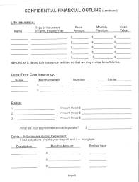 worksheets for needs analysis u2014 achieve financial success