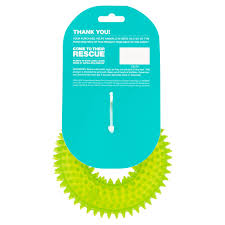 european home design nyc aspca strawberry scented squeaky spiked ring dog toy walmart com