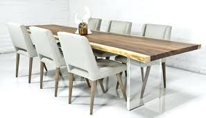 contemporary dining table and chairs modern wood dining tables dining room elegant contemporary rust