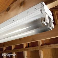 how to change a fluorescent light fixture fluorescent light repair family handyman