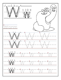 printable letter w tracing worksheets for preschool fun printable
