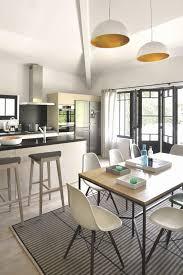 cuisine ouverte sur salle a manger comment agencer sa maison am nager salon salle manger et cuisine