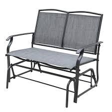 Wicker Glider Patio Furniture - outdoor glider caravan sonoma outdoor iron patio double glider