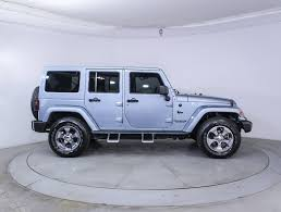 jeep suv 2012 used 2012 jeep wrangler unlimited sahara artic edition suv for