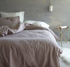 Make Duvet Cover From Sheets by Queen Bed Makeover Rough Linen Bedding 100 Linen