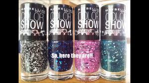 maybelline new york polka dots nail polish haul u0026 swatches youtube