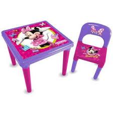 table et chaise minnie table chaises minnie achat vente jeux et jouets pas chers