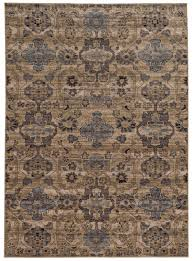 Plain Area Rugs Delighful Blue And Tan Area Rugs Light Global Distressed Pattern