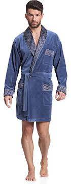 robe de chambre homme timone velours robe de chambre homme 772 b01535wrc0