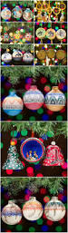 colorful southwest navajo etchware christmas ornament rpncetch