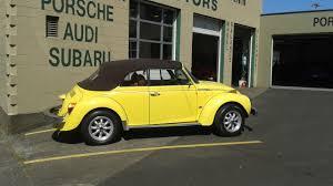 yellow volkswagen convertible yellow vws in portland