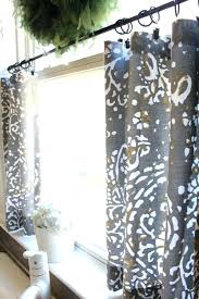 Valance For Windows Curtains Kitchen Window Curtains Tutorial For Making A Simple Rod Pocket