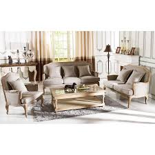 Beige And Grey Living Room Shop Baxton Studio 3 Piece Constanza Neutral Beige Grey Living