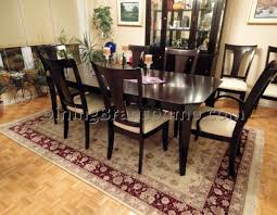 Area Rugs In Dining Rooms Plain Design Area Rug For Dining Room Table Strikingly Ideas Size