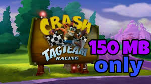 kumpulan game format iso ps2 150mb crash tag team racing highly compressed 150mb by