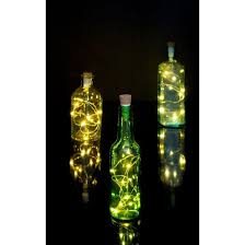 wine bottle string lights rechargeable usb bottle string led lights yellow octopus