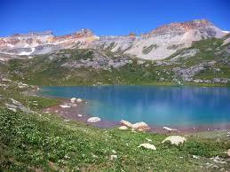 colorado lakes images Ice lakes hiking trail in southwestern colorado near silverton jpg